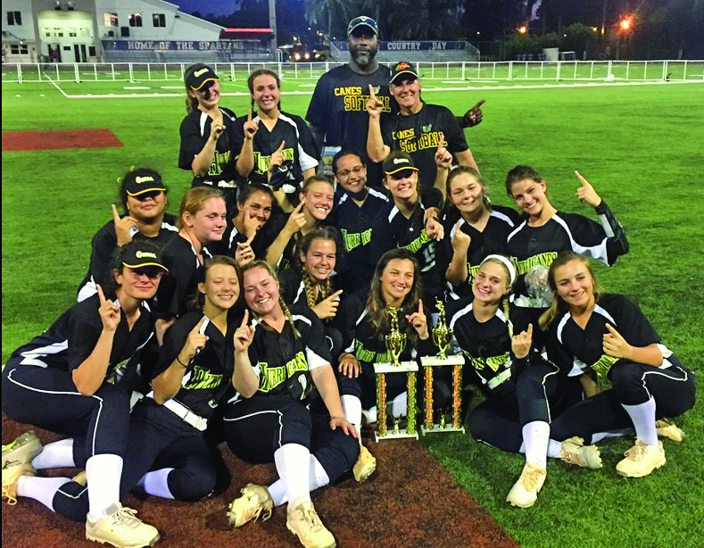 Dominating season ends with trophy, accolades - A group of people posing for a photo - College softball
