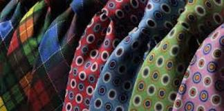 Mainstreaming: Father's Day edition - A close up of a colorful neck tie - Necktie