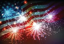 4th of July, Keys Style - Fireworks in the sky - Independence Day