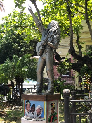 Jamaica in 24 Hours: An island adventure in a day - A statue of a man - Statue