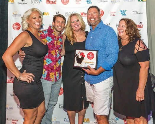6th Annual Bubba Awards - A group of people posing for a photo - Florida Keys