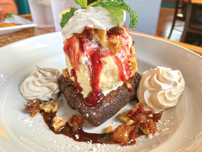 New gastro pub pushes the envelope with whimsical fare - A piece of cake on a plate - Sundae