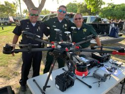 National Night Out – Key West Celebrates and Socializes with First Responders - A group of people wearing military uniforms - Car