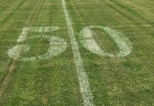NEW ATHLETIC COMPLEX – MHS teams already at practice - A close up of a green field - Lawn