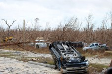 An Account from the Ground – What is left behind after Dorian - A car parked on a dirt road - Off-road vehicle