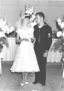 FORMER SHERIFF RICK ROTH LEAVES LASTING LEGACY - A man and a woman in a wedding dress - Flower girl