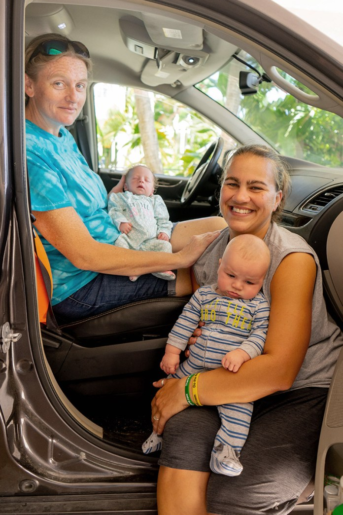 Moms of 'IBC Baby' deliver baby sister in the car