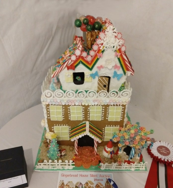 WINTER WONDERLAND–Snow, Santa and sweets at Holiday Fest - A birthday cake - Gingerbread house