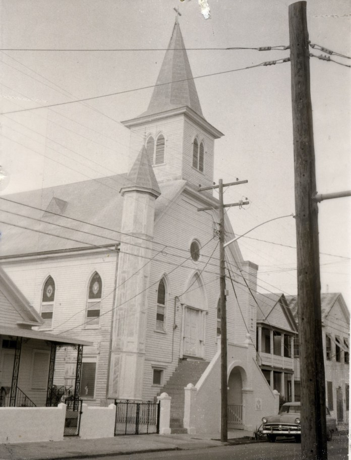 Faith and freedom –City's oldest black church turns 155 - A large white building - Cornish Memorial A.M.E. Zion Church