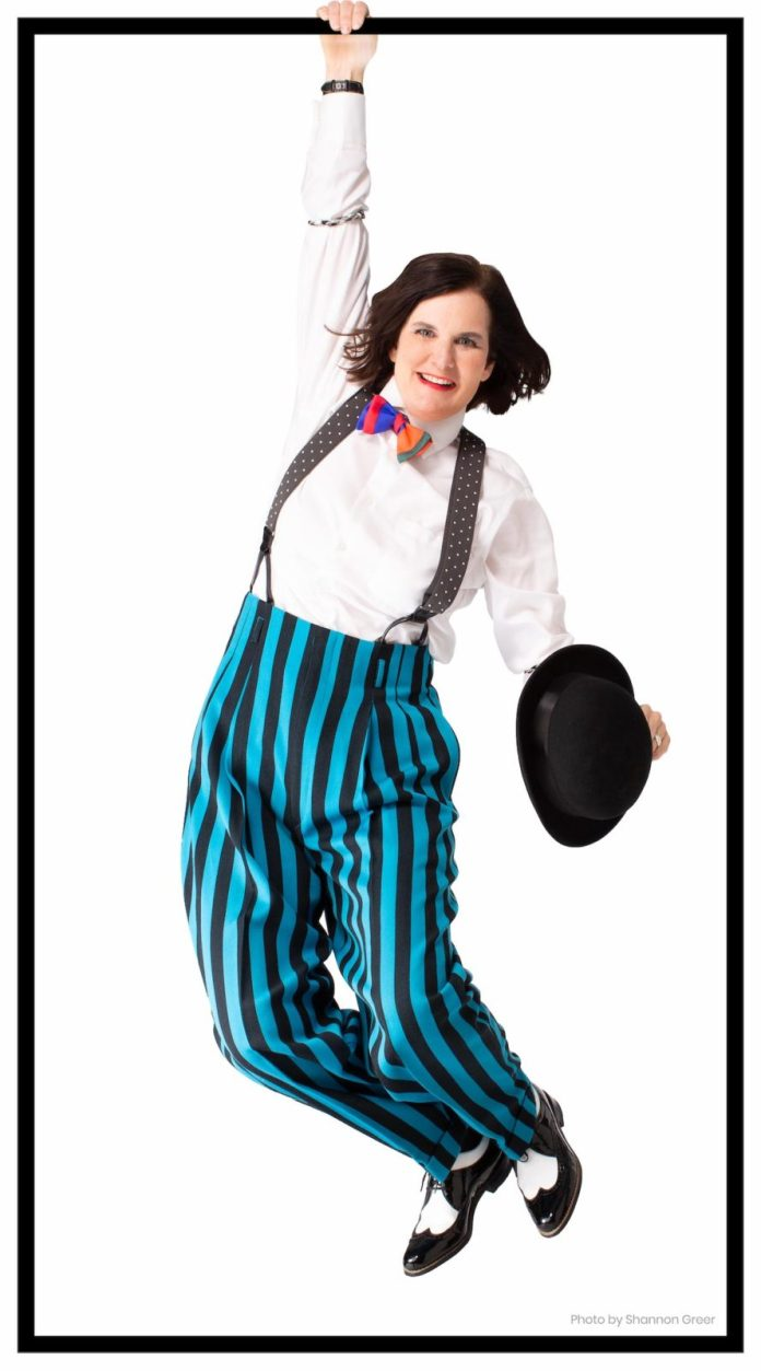 Comic relief – Poundstone returns to Key West Theater - A close up of Paula Poundstones face - Paula Poundstone