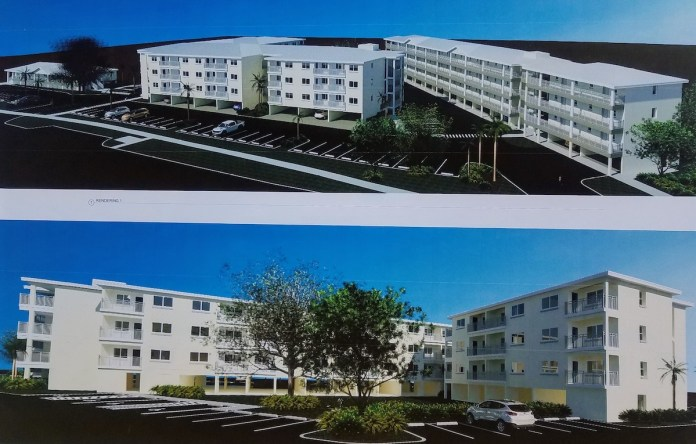 Building a reality - A large white building - Mixed-use
