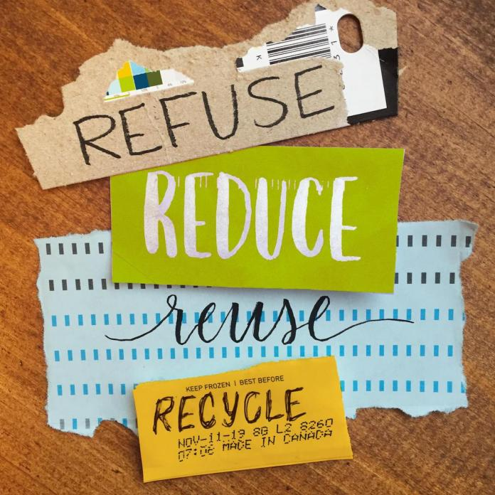 Recycling after the Holidays - Refuse, Reduce, Reuse, Recycle