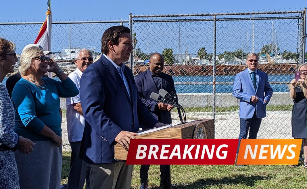 Ron DeSantis visits Key West