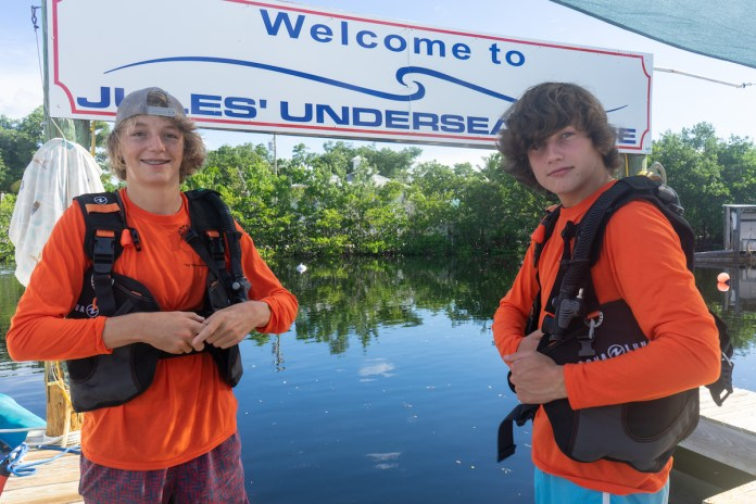 Dive instructor prepares youths for success with scuba - Car