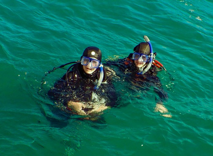 Dive instructor prepares youths for success with scuba - Snorkeling