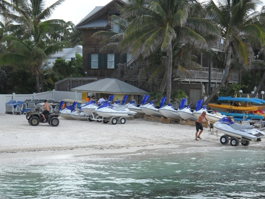 Barefoot Billy's Watersports, tucked away behind the Reach Resort in Key West, offers an incredible 27-mile circumnavigation of Key West, Stock Island and Boca Chica Key.