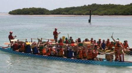 The Battle in the Bay Dragon Boat Festival is returning for Marathon for the second year this May, and organizer Karen Bowers has the long-term vision that the event could be the Middle Keys' equivalent to Fantasy Fest.