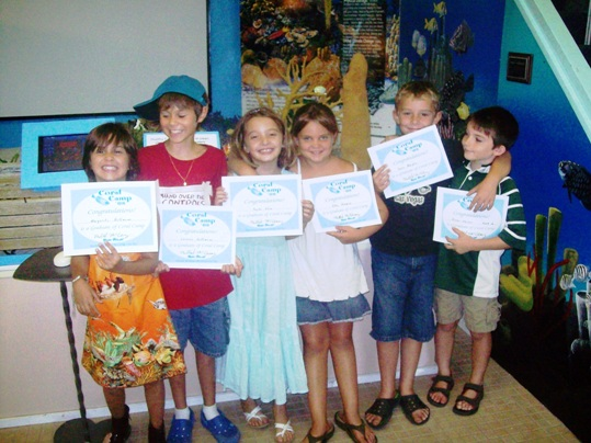 Enjoy your summer exploring coral reefs and amazing marine ecology
