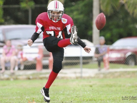 Never in the history of Marathon Youth Football has the Key West Youth Football Club chosen four players for the All Star team. Players Randy Culmer, offensive and defensive lineman and kicker, John Qualls, runner, Stevie Sainz and Evan Bridger were nominated for the squad, but due to prior engagements, only two of the four athletes were able to participate.
