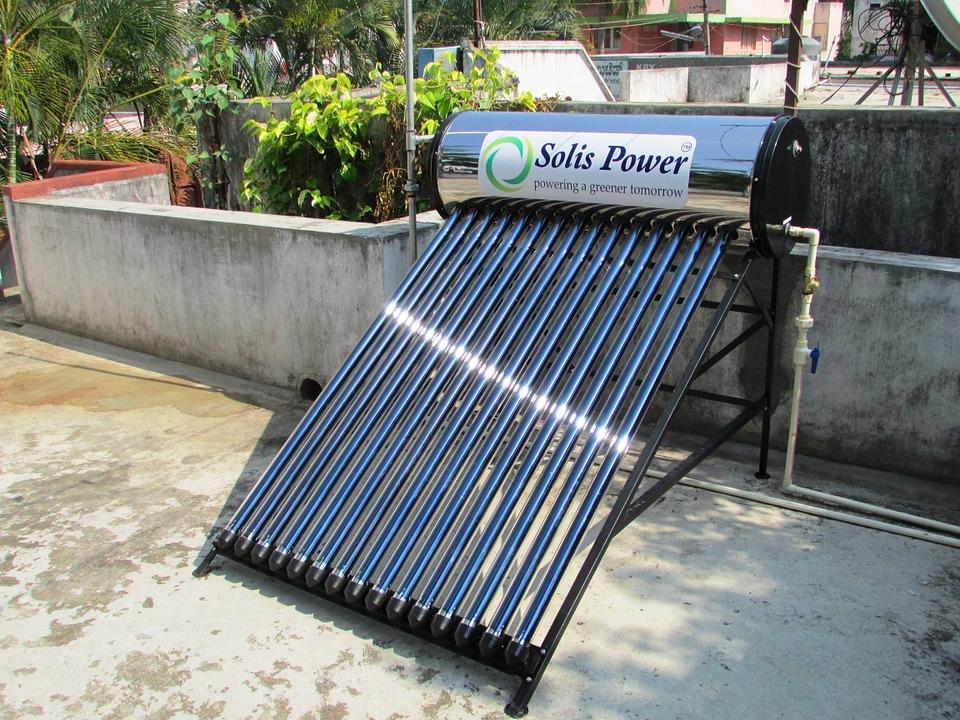 water heater solar panel