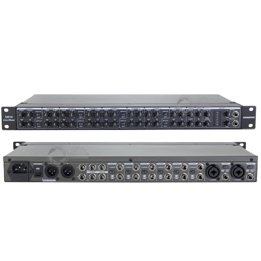 Samson SM10 19 inch rack audio mixer