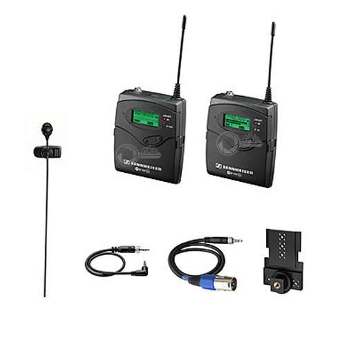 2 x wireless lavalier microphone EW100 G2