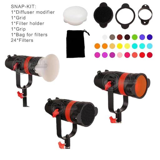 Keytown Rental LED Fresnel Snap Kit