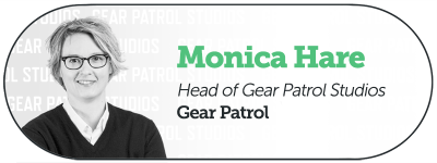 Monica Hare of Gear Patrol Studios