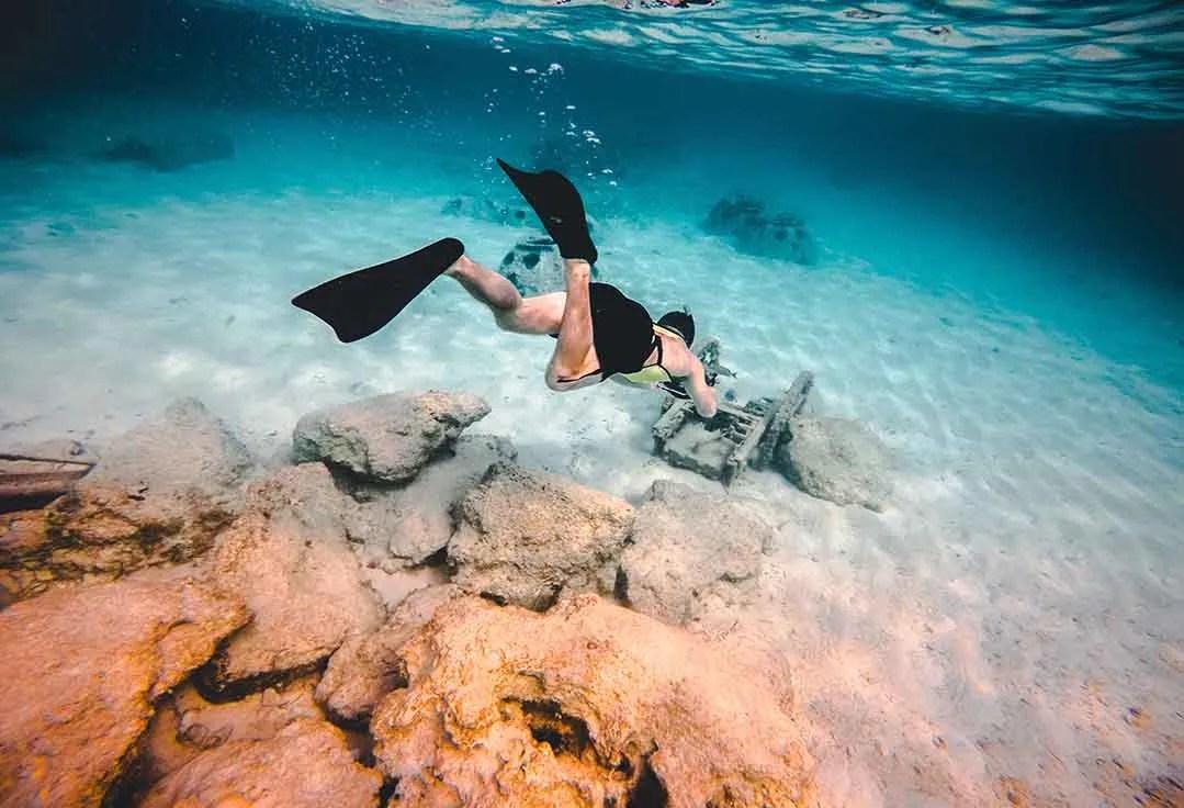 Key West Snorkeling - Coral Rocks