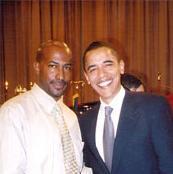 Van Jones and Barack Obama