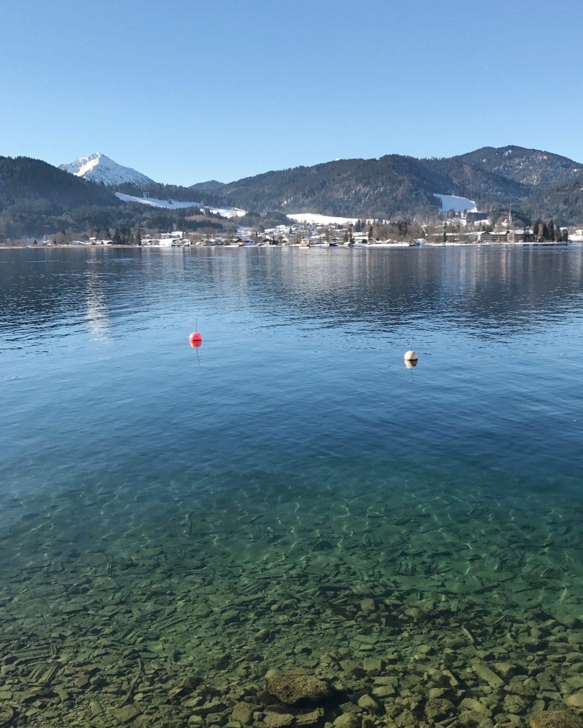 alemanha no inverno lago