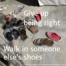 15 walk in someone else's shoes