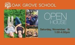Open House at Oak Grove School