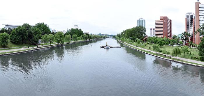 Transformación del rio Pothong