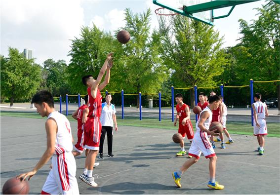 Gran equipo de baloncesto.