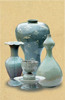 Porcelana azul, patrimonio inmaterial de la RPDC.