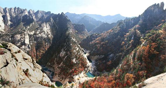Zona de protección de la biosfera del monte Kumgang.