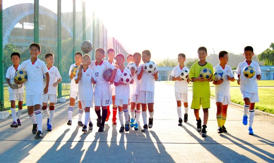 Escuela internacional de fútbol.