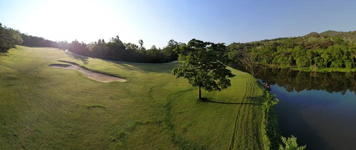 Campo de golf.