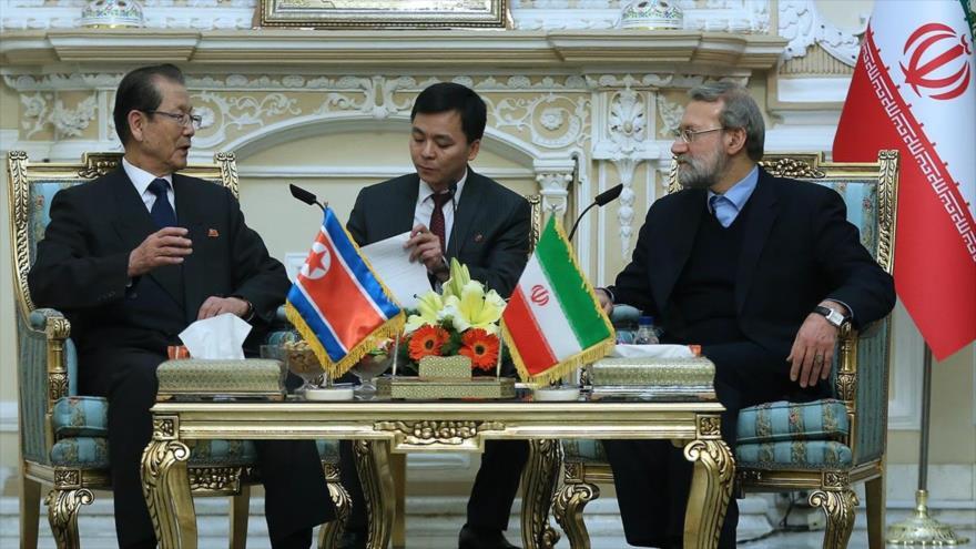 Presidente iraní estrecha lazos amistosos con la RPDC.