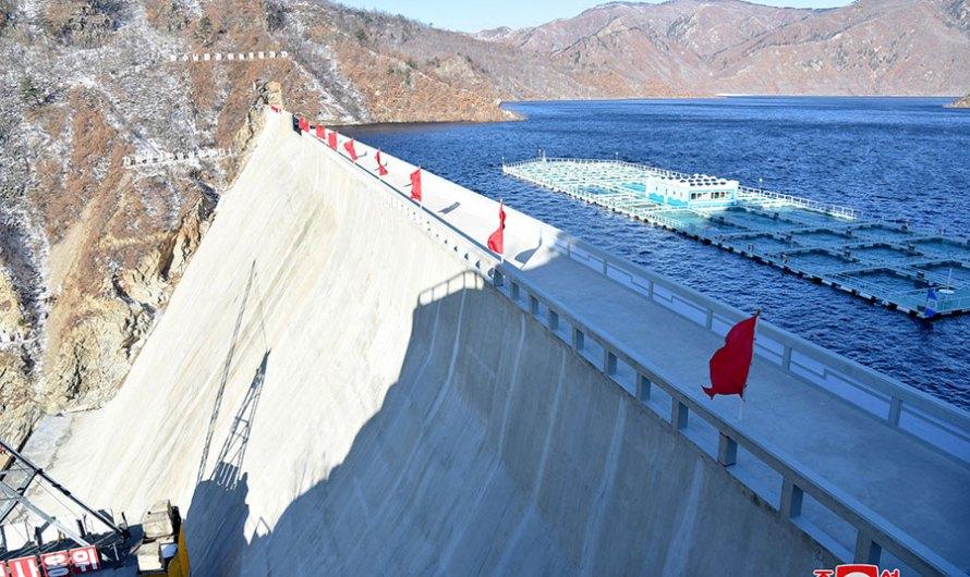 Construida planta de central hidroelectrica Orangchon.