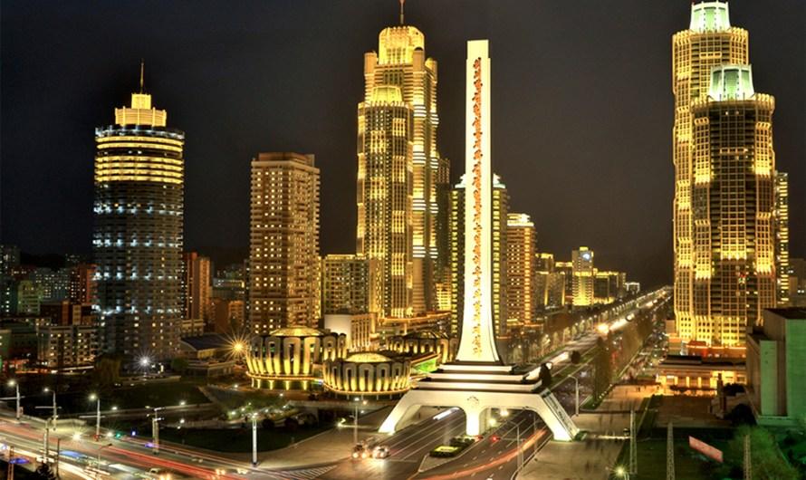 Panoramas de iluminación nocturna