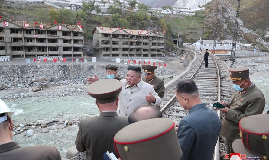 Máximo Dirigente visita zona de Komdok.