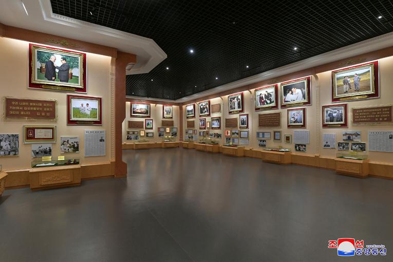 Nuevo pabellón en el Museo de la Revolución Coreana