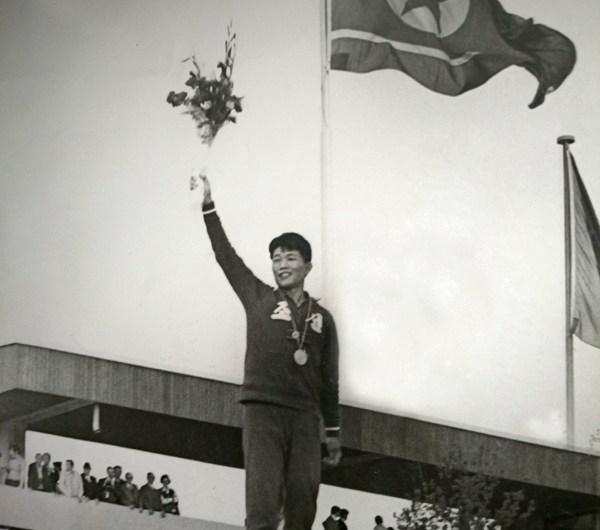 Primer oro olímpico de la RPDC.