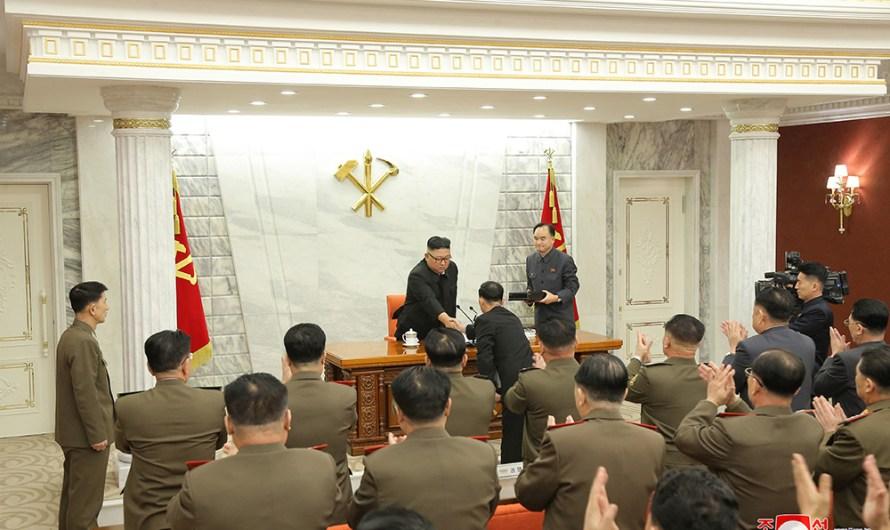 Reunión de la Comisión Militar Central del PTC.