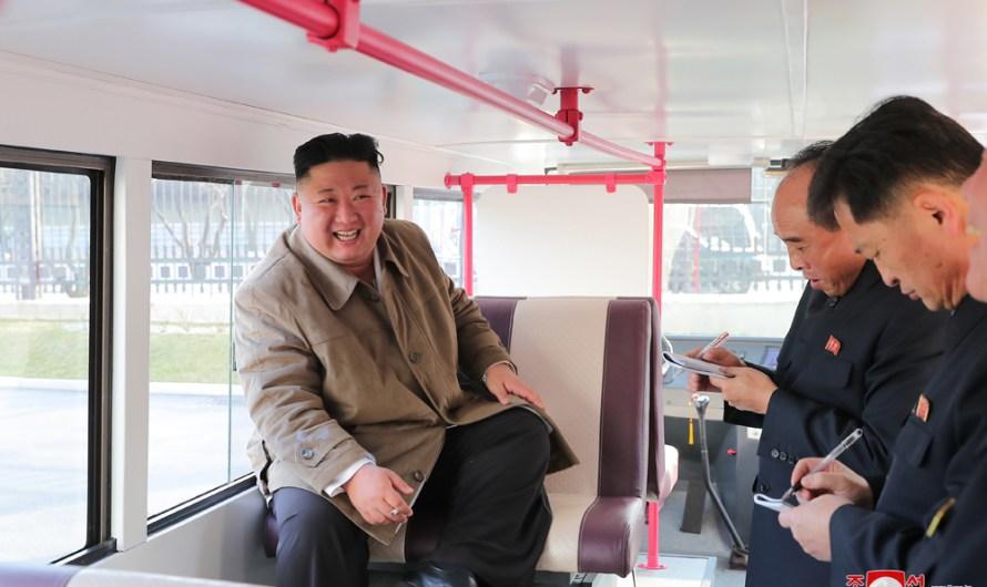 Prototipos de nuevos autobuses