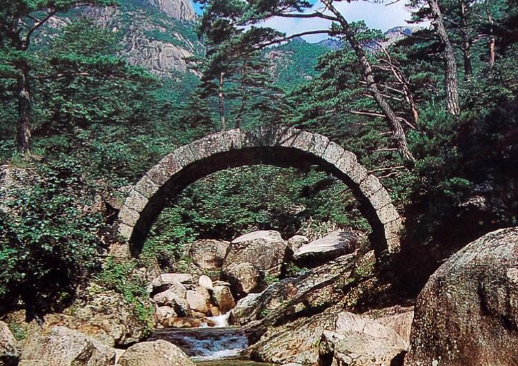 Puente histórico de Kangwon