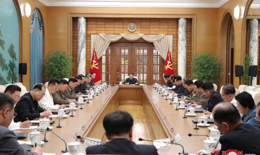 Primera reunión del Buró Político del VIII Período del CC del PTC
