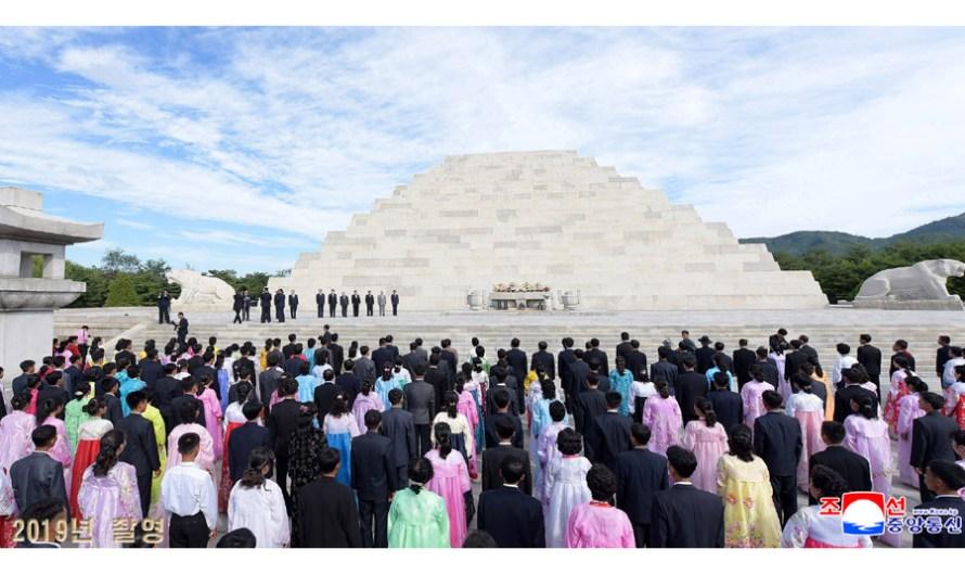 Ceremonia en recuerdo del histórico rey Tangun.